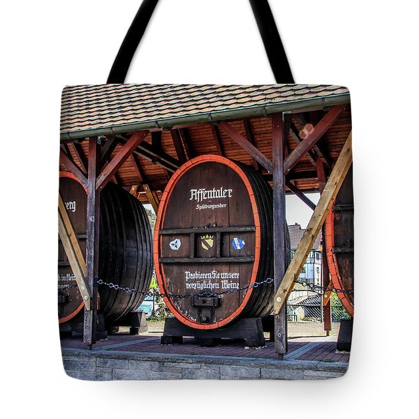Large Wine Casks Tote Bag