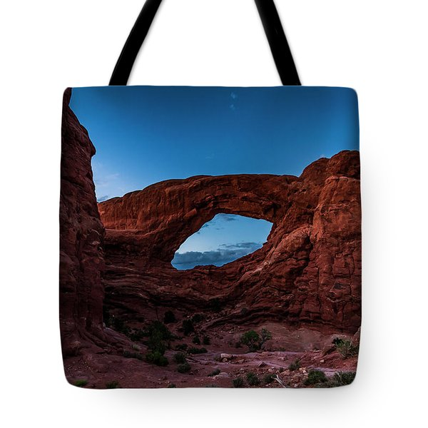 Last Light Through The South Window Tote Bag