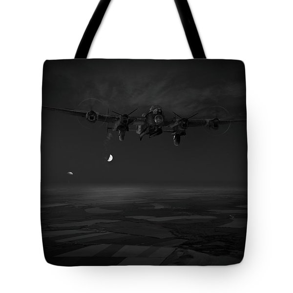 Tote Bag featuring the photograph Last Man Out Bw Version by Gary Eason