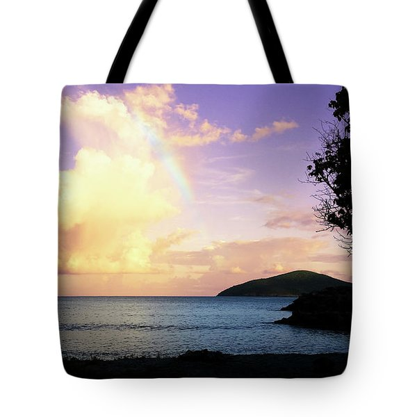 Last Rainbow Of The Day Tote Bag