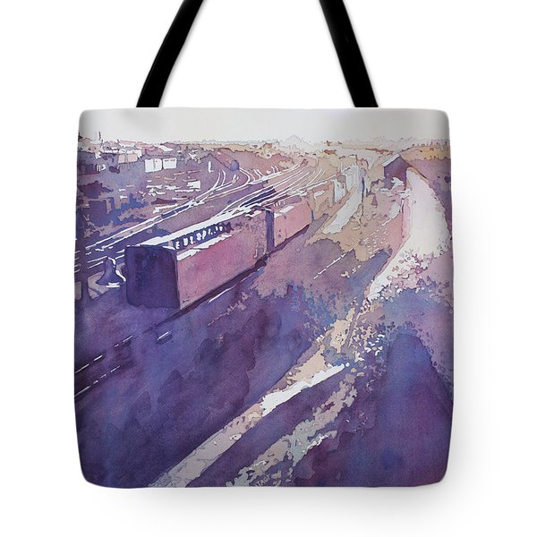 Late Afternoon Freight Tote Bag