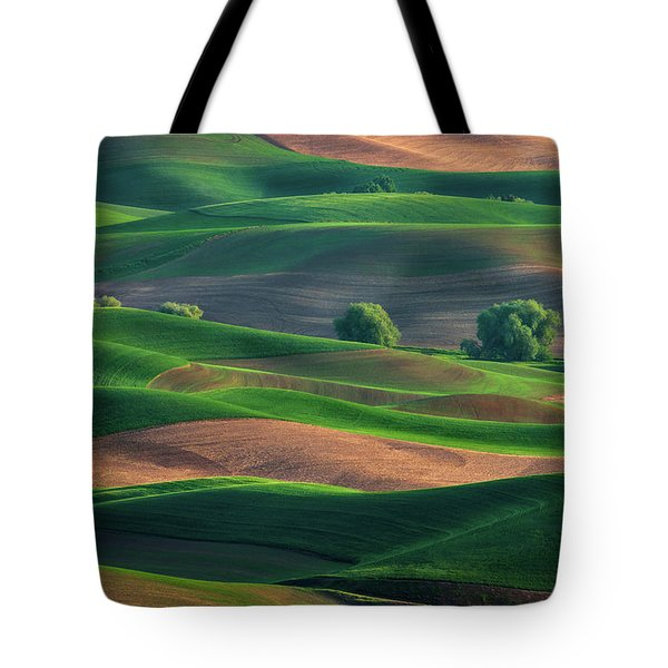 Late Afternoon In The Palouse Tote Bag