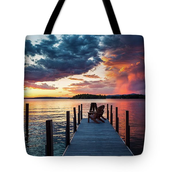 Late Summer Storm. Tote Bag