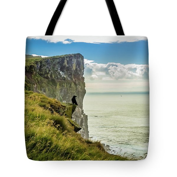 Latrabjarg Cliffs, Iceland Tote Bag