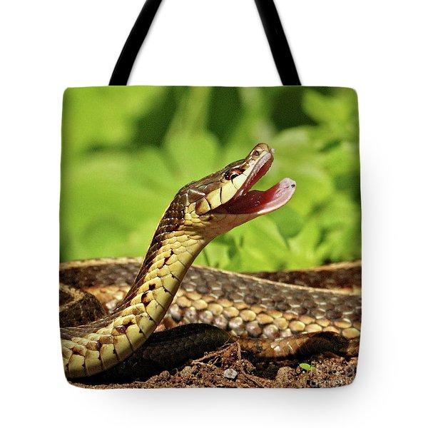 Laughing Snake Tote Bag