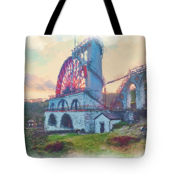 Laxey Wheel 2 Tote Bag