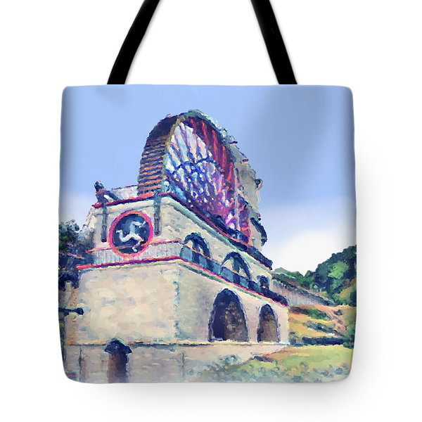 Laxey Wheel 6 Tote Bag