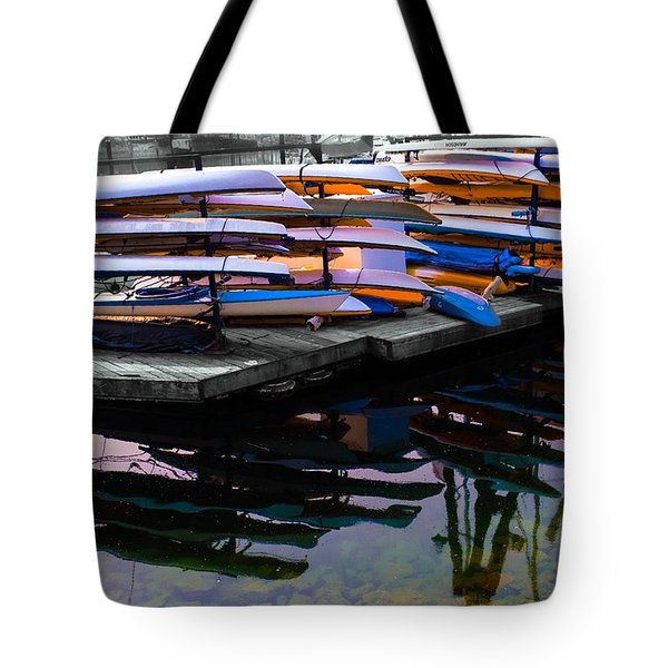 Layers And Layers By The Water Tote Bag