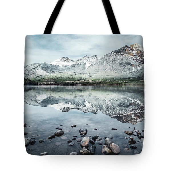 Layers Of Tranquility Tote Bag