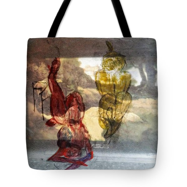 Laying Your Psychopathic Soul Bare Tote Bag