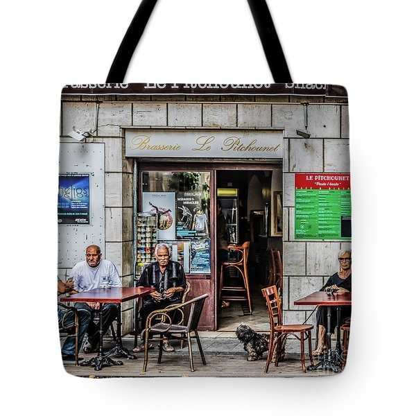 Le Pitchounet Brasserie Tote Bag