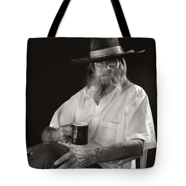 Tote Bag featuring the photograph Le Poete by Ron Cline