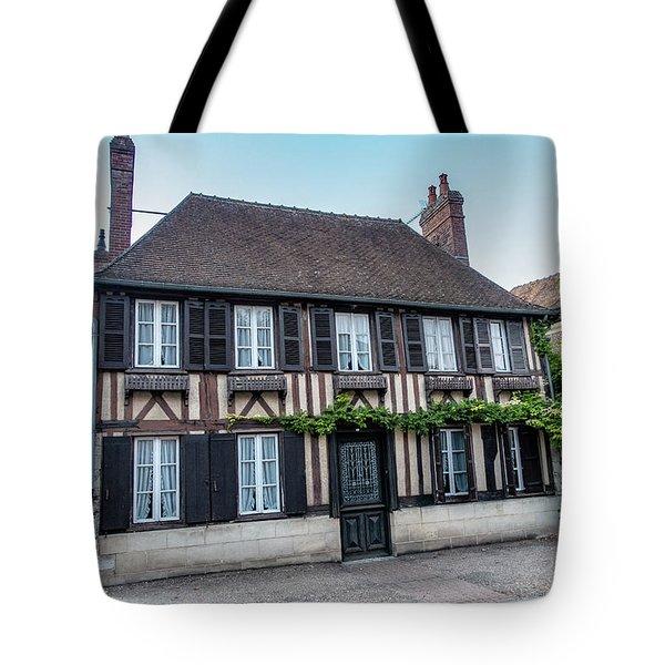 Tote Bag featuring the photograph Le Vieux Logis D'acquigny by Randy Scherkenbach