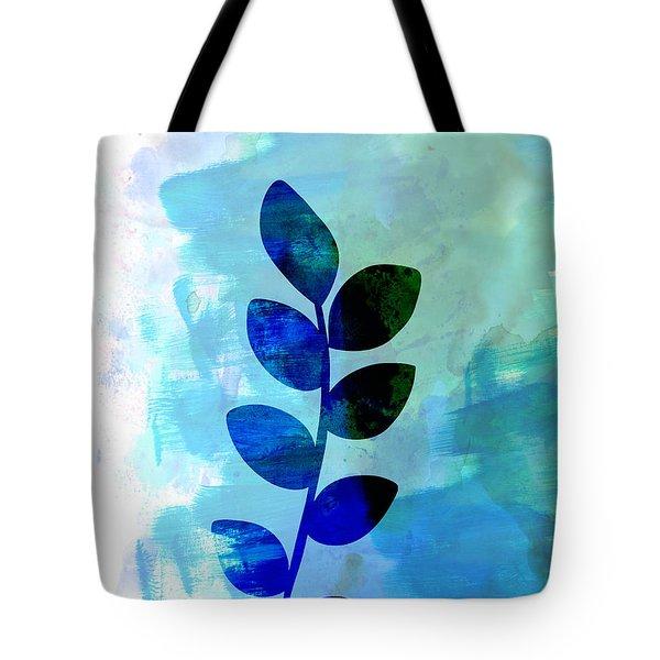 Leaf Watercolor Tote Bag