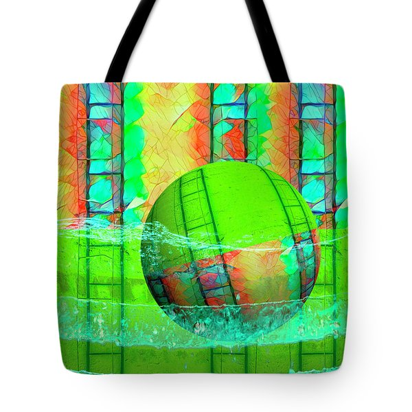 Learning To Swim Tote Bag