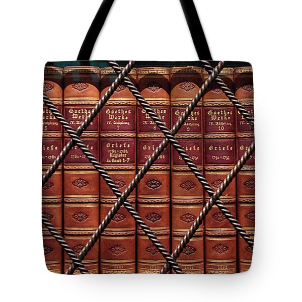 Leather Bound Classics Tote Bag