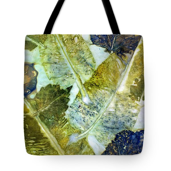 Leaves Of Nature Eco Dyed Print Tote Bag