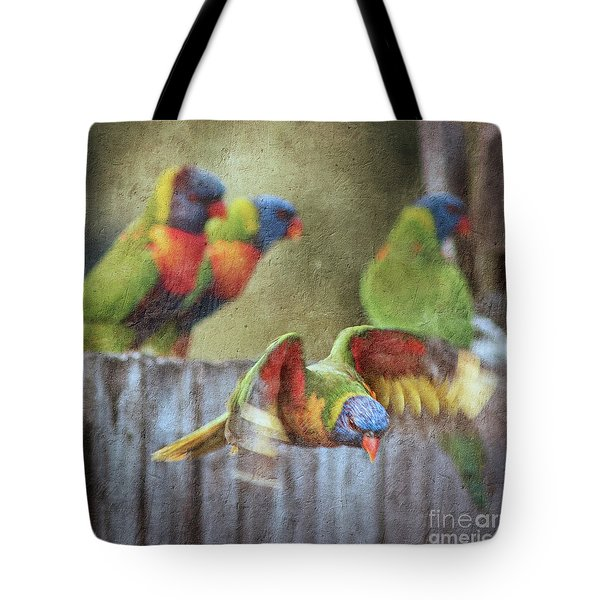 Leaving The Party Tote Bag