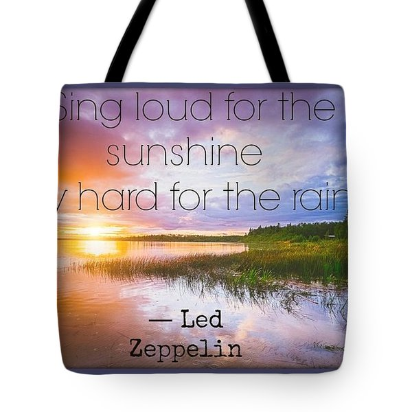 Led Zeppelin 0022 Tote Bag