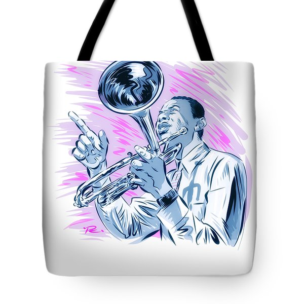 Lee Morgan - An Illustration By Paul Cemmick Tote Bag