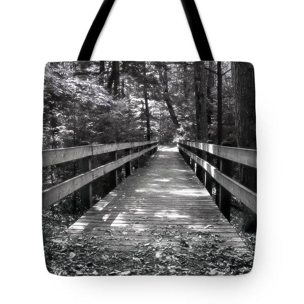 Tote Bag featuring the photograph Leelanau Trail by SimplyCMB