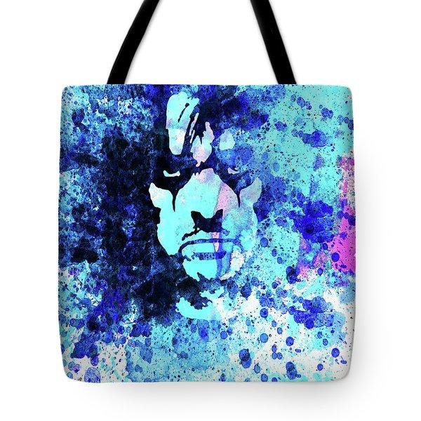Legendary Alice Cooper Watercolor Tote Bag