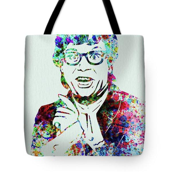 Legendary Austin Powers Watercolor Tote Bag