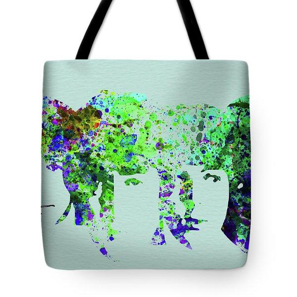 Legendary Beetles Watercolor II Tote Bag