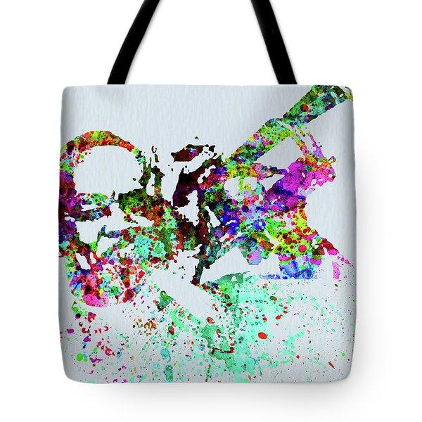 Legendary Buck Clayton Watercolor Tote Bag