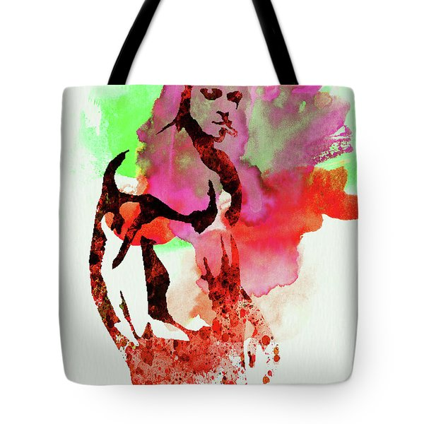 Legendary Fight Club Watercolor Tote Bag