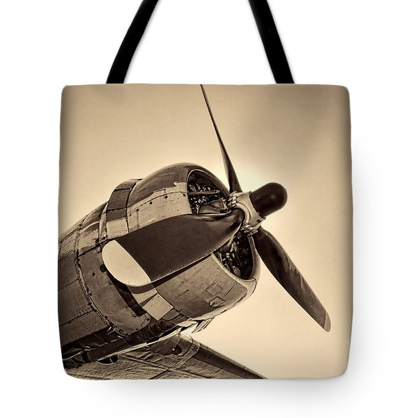 Legendary Flying Fortress  Tote Bag