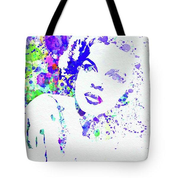 Legendary Judy Garland Watercolor I Tote Bag
