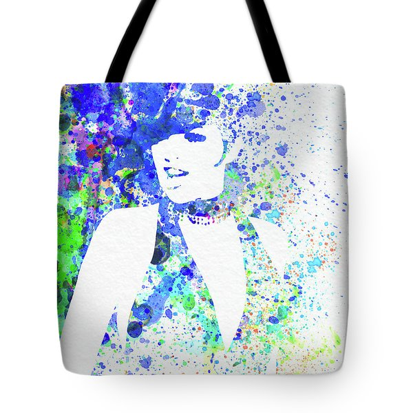 Legendary Liza Minnelli Watercolor II Tote Bag