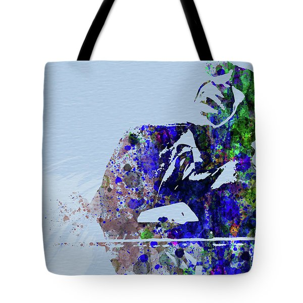 Legendary Ray Charles Watercolor Tote Bag