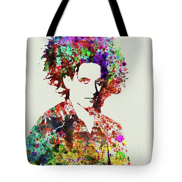 Legendary Robert Smith Watercolor Tote Bag