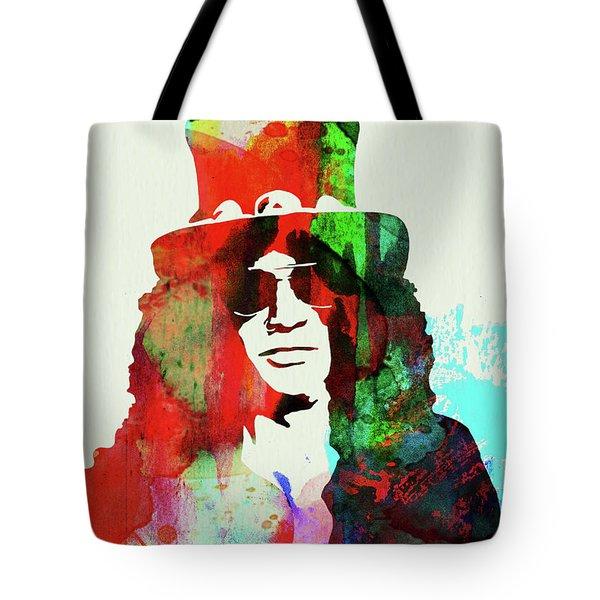 Legendary Slash Watercolor II Tote Bag