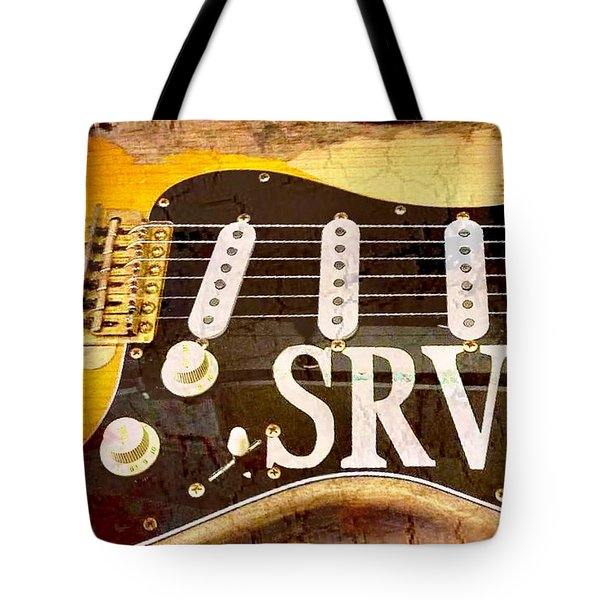 Lenny Stevie Ray Vaughans Guitar Tote Bag