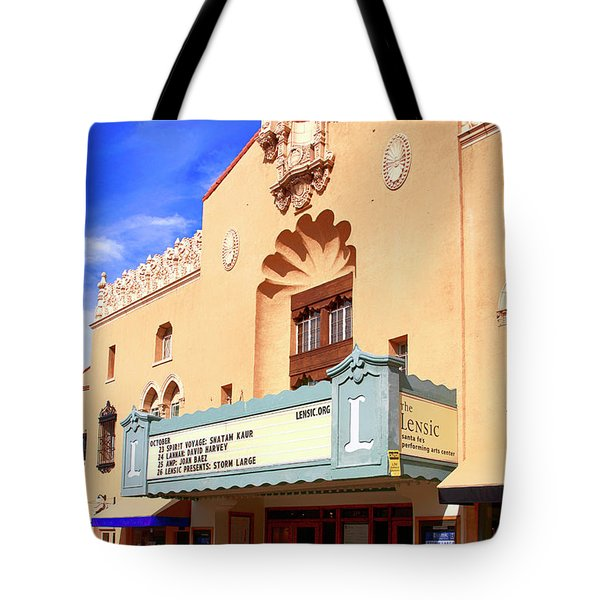 Lensic Performing Arts Center Tote Bag
