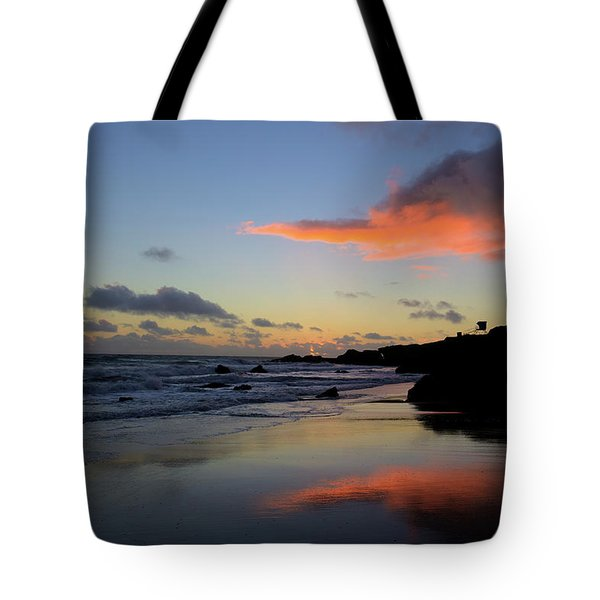 Leo Carrillo Sunset II Tote Bag