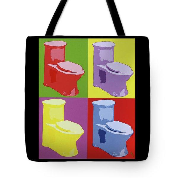 Les Toilettes  Tote Bag