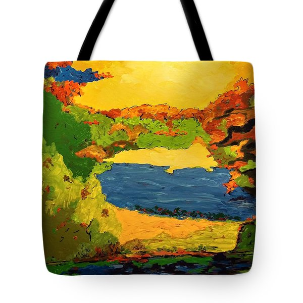 Lesson From Nature Tote Bag