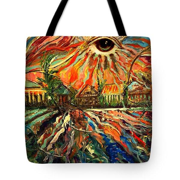 Let Love Shine Tote Bag