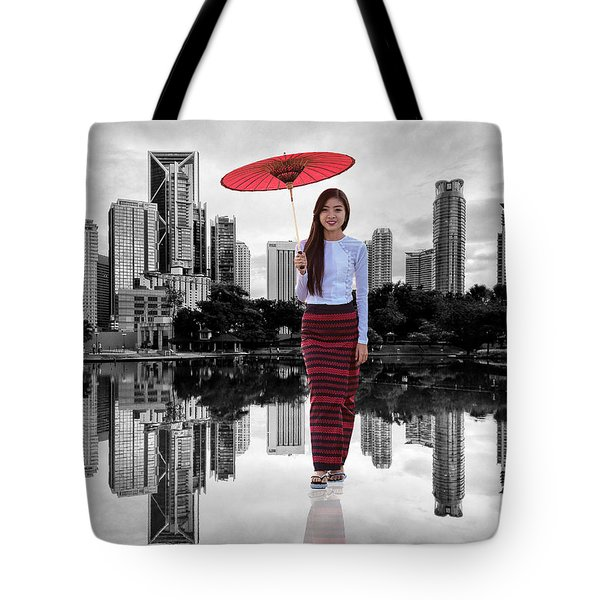 Let The City Be Your Stage Tote Bag