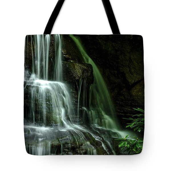 Let Your Living Water Flow Tote Bag