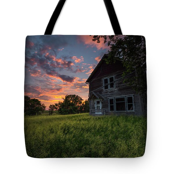 Tote Bag featuring the photograph Letters From Home by Aaron J Groen