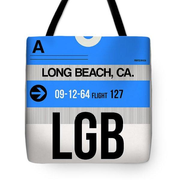 Lgb Long Beach Luggage Tag I Tote Bag