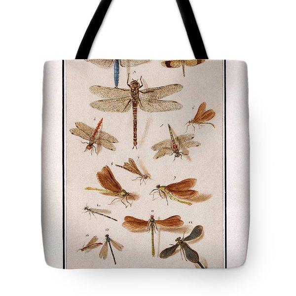 Libellen Tote Bag