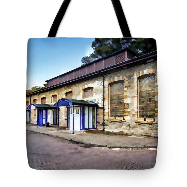 Liberty Health Club Digital Painting Tote Bag