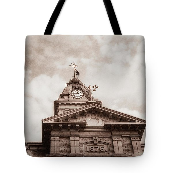 Licking County Courthouse Tote Bag
