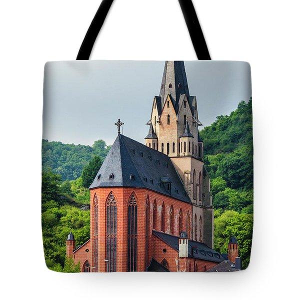 Liebfrauenkirche Oberwesel Tote Bag